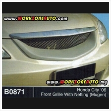 B0871 Honda City 06 Fiber Front Grille (Mugen) With Netting