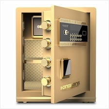 New Large Fingerprint Home Hotel Office Safe Safety Deposit Box Alam .