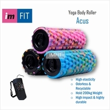 IMFIT Yoga Body Roller Acus 33cm - Durable Foam Roller Block with Mass