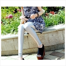 02607 America sought after wild thin fluorescent high elastic Slim Leg