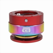 Arospeed Steering Quick Release Rainbow Ring RD