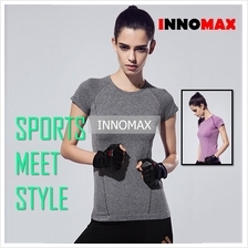 Cooldry Sports Short Sleeve Top - Women Sportswear for Yoga  & Exercis