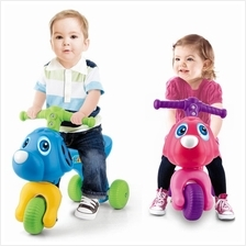 Puppy Dog Children Toddler Step Tricycle Baby Running Stroller