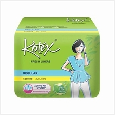 Kotex Fresh Liners Regular Scented Panty Liners 40pc
