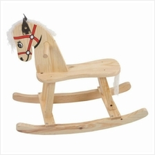 Wooden Toy Toys Rocking Horse Children Kids Educational