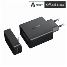 Aukey PA-Y7 29W Amp Duo Power Delivery 3.0 USB C 1+2 Port Turbo Charge)
