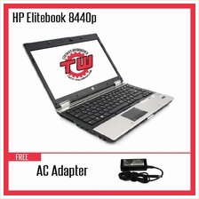 HP EliteBook 8440p Laptop (Refurbished) + 8GB DDR3 RAM