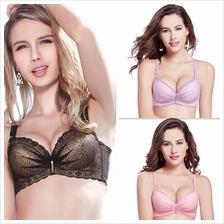 [CLEARANCE SALES] Premium Embroidery Gather Push Up Bra F049