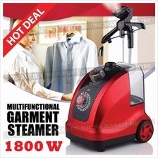 Multifunction 12 Mode Garment Steamer Iron Standing Hanging 1800W 1.8L
