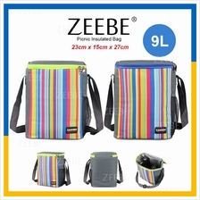 ZEEBE 9L Large Insulated Thermal Lunch Box Warm Cooler Food Bag CL1913