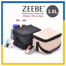 ZEEBE 4L Large Insulated Thermal Lunch Box Warm Cooler Food Bag BW5001