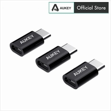 Aukey CB-A2X3 USB C To Micro USB Converter - 3 Pack)