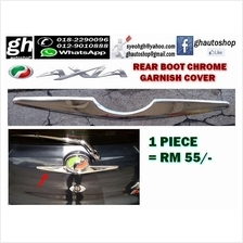 AXIA (all model) sporty chrome rear boot garnish cover