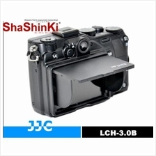 JJC LCH-3.0B Universal LCD Hood for 3.0 inch LCD Screen