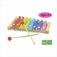 Wooden Toy Toys Colorful 8 Notes Xylophone Kids Baby Music