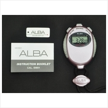 Alba Digital Stopwatch 1/100 Sec PUL SW01