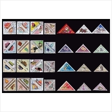 A Collection Of Triangle Topic Stamp 50v No Repetition