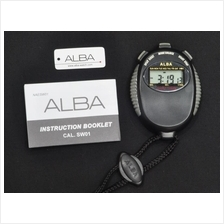Alba Digital Stopwatch 1/100 Sec BL SW01