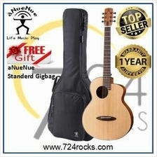 aNueNue M10EF Feather Bird Acoustic Guitar With Free Deluxe Gig
