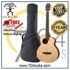 aNueNue M12EF Feather Bird Acoustic Guitar With Free Deluxe Gigbag