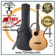 aNueNue M100EF Fly Bird Acoustic Guitar With Free Deluxe Gigbag