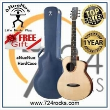 ANueNue M200EF Fly Bird Acoustic Guitar With Free Blue Hardcase