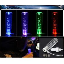 15 cm Led Color Crystal Car Gear Knob Manual shift