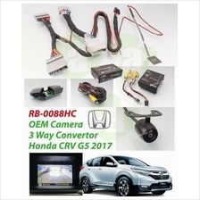 HONDA CRV G5 2017 REDBAT OEM Front View Camera Kit w/ 3-Way Converter