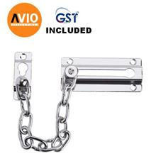 AZIO ADG501SN-V DOOR GUARD METAL STEEL SATIN NICKEL