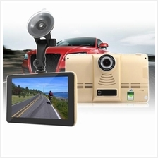 7 INCH ANDROID 4.4 CAR TABLET GPS 170 DEGREE WIDE ANGLE 1080P DVR RECO