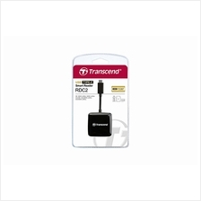 TRANSCEND EXT TYPE C+ 1-PORT USB2.0 CARD READER (TS-RDC2K) BLK