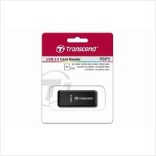 TRANSCEND EXT USB2.0 CARD READER (TS-RDP5K) BLK