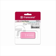 TRANSCEND USB3.0 CARD READER (TS-RDF5R) PINK