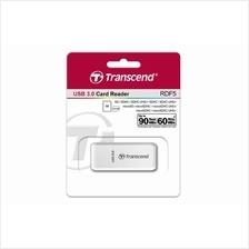 TRANSCEND USB3.0 CARD READER (TS-RDF5W) WHT