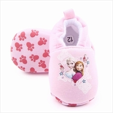 Sale Baby Shoes Prewalker Pink Frozen Elsa Anna