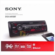 Sony DSX-A410BT Single DIN Dual Bluetooth Media Receiver with USB (No