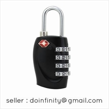 Jasit TSA Approved 4 Digit Combination Travel Luggage Lock Padlock New