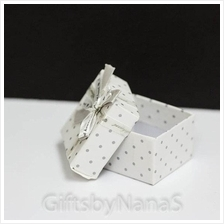 Wedding Polka Dot Favor Box