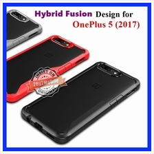 Ultra Hybrid Fusion Transparent Back OnePlus 5 case cover (2017)