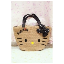 Hello Kitty Straw Bag 2015 ~tote bag