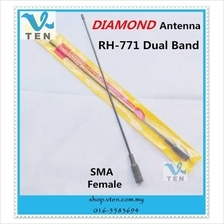 DIAMOND RH-771 SMA Female Antenna Dual Band For KENWOOD/BAOFENG