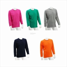 Foursquare Long Sleeves Round Neck Tee (Min Order 5pcs)