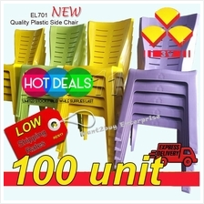 100 unit -3v EL701 Grad A High Quality Plastic Side Chair-NEW 100 unit
