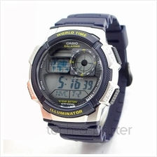 Casio AE-1000W-2AVDF Illuminator Men's Blue Resin Strap Watch Original