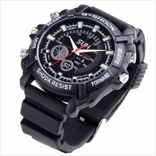 16GB Night Vision Waterproof Watch Camera (WCH-09C) ★