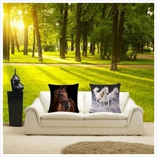 Creative Decorative Pillows Fashion Cartoon Horse Home Decor