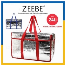 ZEEBE 24L Insulated Thermal Lunch Box Warm Cooler Food Bag G7060