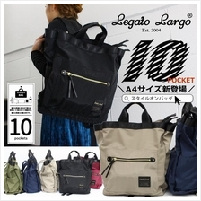 Legato Largo Japan 10 Pocket 2-Way Backpack