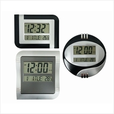 Multi function LCD Digital Clock With Alarm/Date/Temperature/Timer