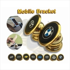 360 Degree Gold Rotation Magnetic Sticky Phone Holder/ Stand